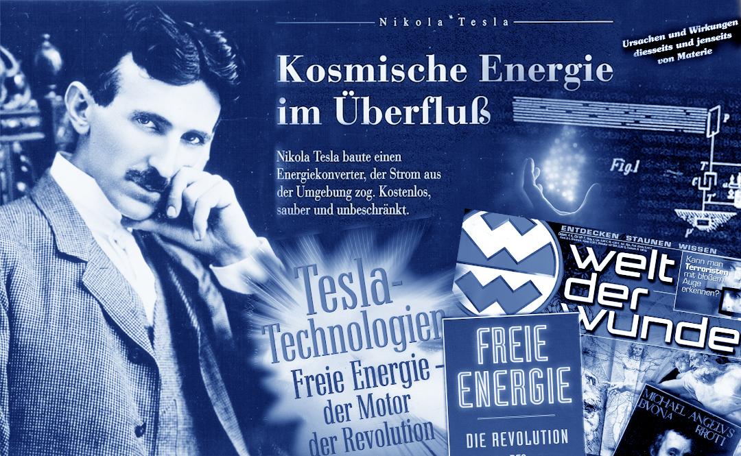 Teslas Empfänger für Freie Energie