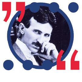 Beliebtestes Tesla Zitat